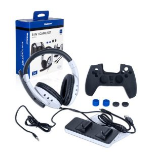 Mikiman 8 in 1 Gaming Combo For PS5